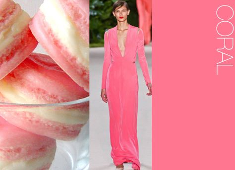 Inspirational for Courtney & Jerry's potential outdoor wedding.  *Color: Coral spring 2014 color trends - Google Search