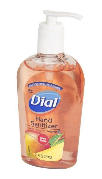 Dial Hand Sanitizer Island Mango Hand Sanitizer Sanitizer Grocery