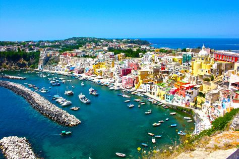 Insel Procida bei Neapel, Italien