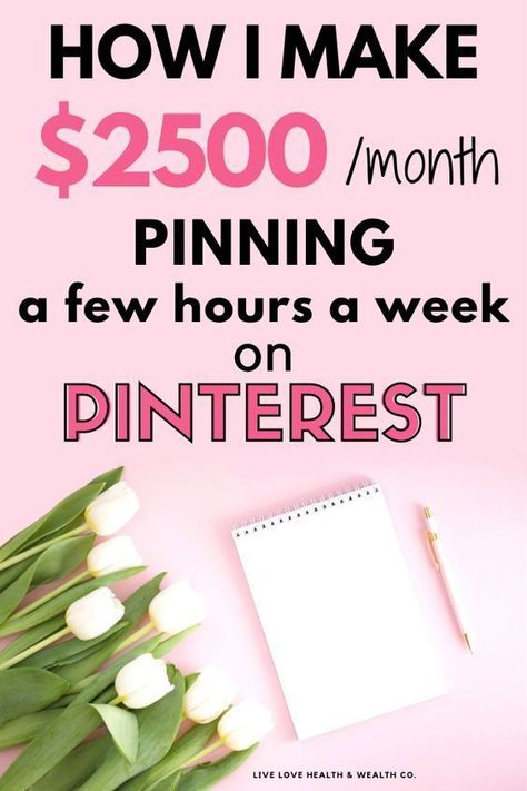 How Pinterest makes $5k for Me Every Single Month | Side Hustles | Work from Home