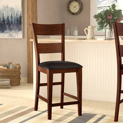 Millwood Pines Ellington Counter Height Extendable Dining Table