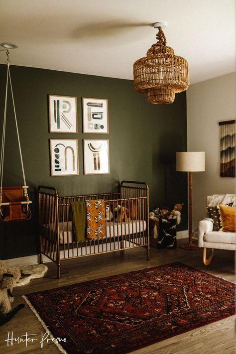 Baby Boy Rooms, Baby Bedroom, Baby Room Decor, Baby Boy Nurseries, Green Baby Rooms, All Green Nursery, Nursery Room Ideas, Baby Boy Nursey, Country Baby Rooms