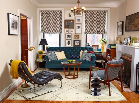 Pattern Play - These Furniture Arrangements Are #SquadGoals - Photos