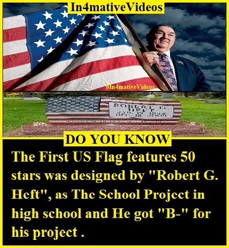 Robert G Heft The Designer Of Americas First Flag In 2020 Developing Country United States Of America America