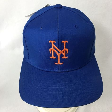 Vintage New York Giants Baseball Hat MLB Snapback Cap Embroidered New With  Tags  Competitor  BaseballCap 29606117c82