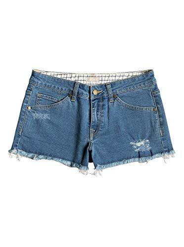 P/&E Boys Jean Denim Stretchy Washed Elastic Waist Summer Shorts