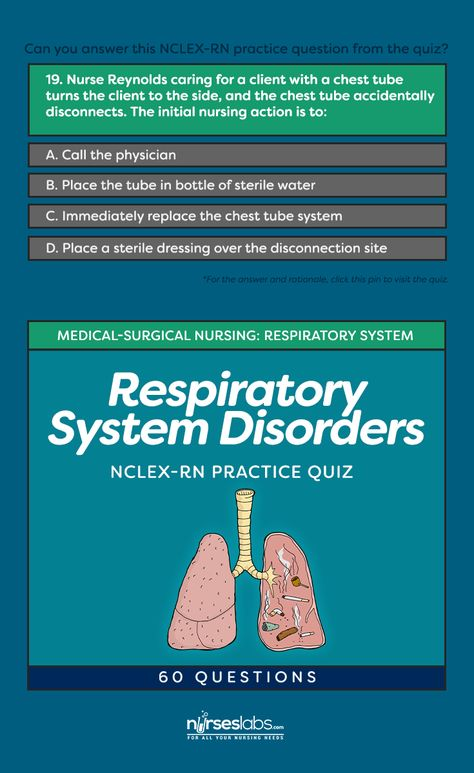 NCLEX Questions: Respiratory System