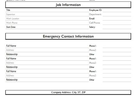 Employee Time Off Request Form Template Excel And Word  Company