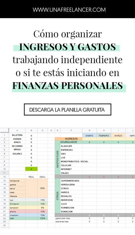 Pin De Nohe Allegren En Finanzas Contaduria Y Finanzas Consejos De Finanzas Ingresos Y Gastos