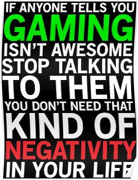 Gaming Is Awesome Funny Gamer T Shirt Poster Gamer Quotes Gamer Humor Game Quotes