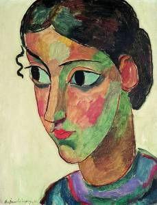 Euroart Newsletter Iii 10 De Portrait Art Artist Expressionist Painting