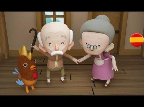 ▶ EL GALLITO DE LA CRESTA DE ORO - Cuentos infantiles - YouTube