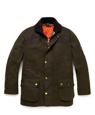 site réputé aee2f e11ad WEAR DIFFERENT: Jack Spade + Barbour Hopper Jacket | Dress ...