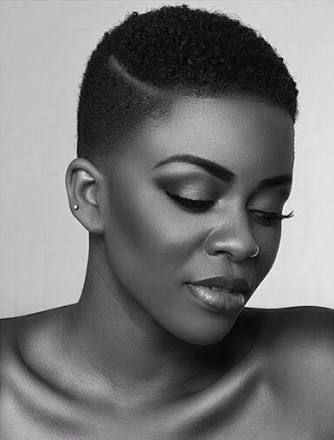 Image Result For Short Tapered Natural Hairstyles For Black Women With Round Faces Hairstyl Short Natural Hair Styles Natural Hair Styles Tapered Natural Hair