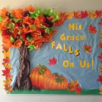 Christian Fall Bulletin Board Ideas Thanksgiving Boards