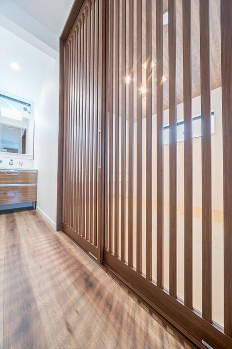 おしゃれな和室の引戸はベリティスの格子デザイン 自宅で 和室 和室 扉