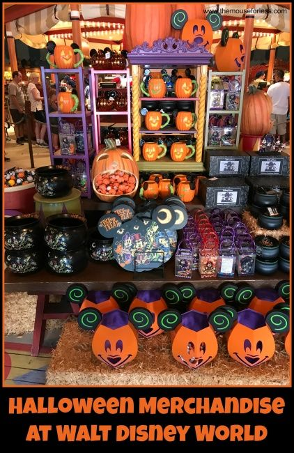 Must Have Merchandise For Mickeys Halloween Party 2020 Mickey's Not So Scary Halloween Party Guide 2020 | Walt Disney