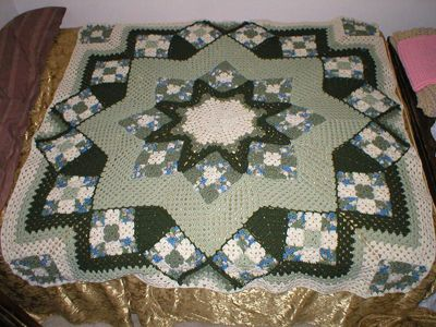 Ravelry Project Gallery For Blue Star Pattern By Kathy Blakely