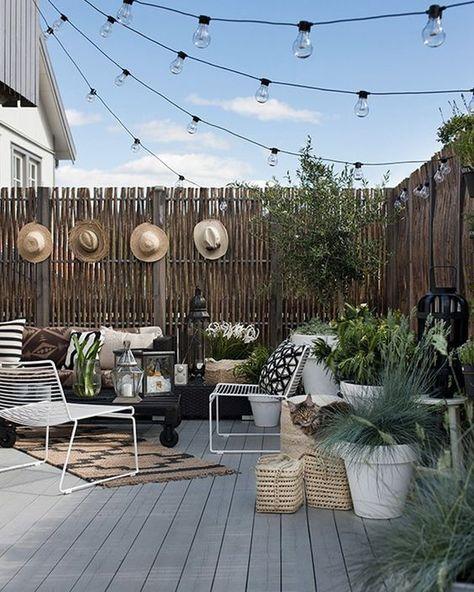 Des idées déco pour votre balcon   Deco terrasse, Jardins et ...