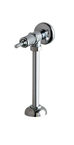 Chicago Faucets 732 Ohcp Angle Urinal Metering Fitting Chrome Urinal Faucet Chrome