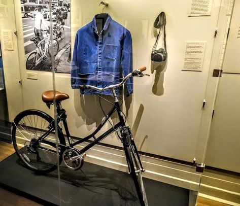"""Catch the lovingly curated, multimedia exhibit """"Celebrating Bill Cunningham"""" at the New-York Historical Society before it closes on September"""