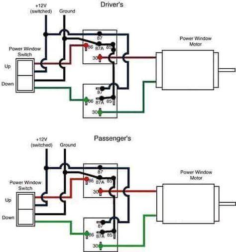 73 87 Window Switch Trailer Wiring Diagram Windows Automotive Electrical