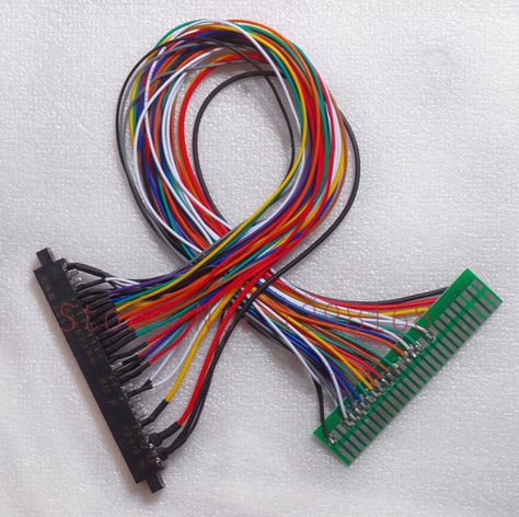 56 pin Jamma Extender harness connect 60 in 1 game board ... Jamma Full Cabinet Wiring Harness Loom on warping a 4 harness loom, electric harness for loom, wiring loom sleeve,