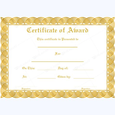 free funny award certificates templates Editable Award of - fresh fillable certificate of appreciation