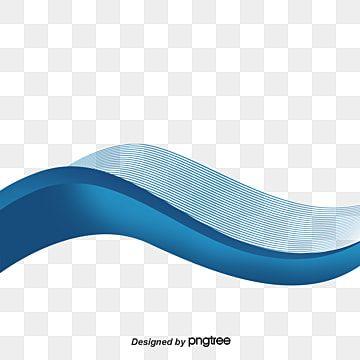 Decoracao De Elemento De Design De Forma Ondulada Vazia Azul E Laranja Para Linha De Curva De Onda De Fluido De Folheto Panfleto Blue Backgrounds Brochure Design Creative Blue