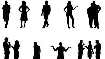 لغة الجسد لغة معبرة يجهلها كثيرون Body Language Human Silhouette Language