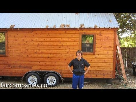 A 288 Square Feet Lots Included Tiny House On Wheels In Austin Texas