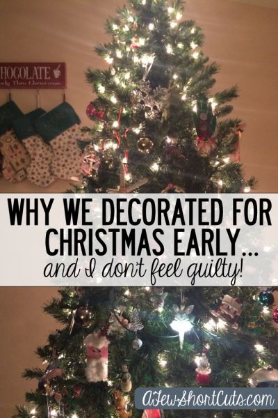 Christmas Day Why We Decorated For Christmas Early And I Don T Feel Guilty This Says The Love Quotes Looking For Love Quotes Top Rated Quotes Ma Christmas Decorations Christmas
