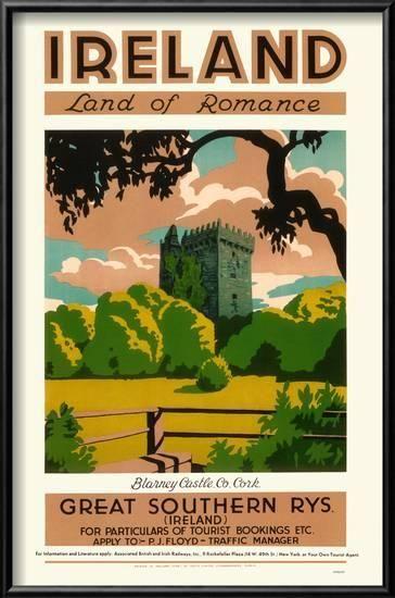Ireland Poster Allposters Com Vintage Ireland Travel Posters Vintage Travel Posters