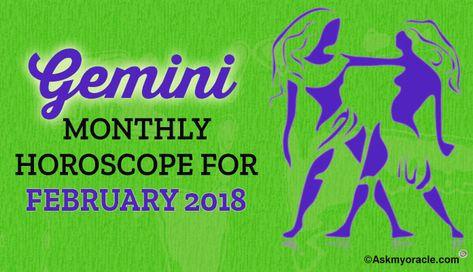 free gemini horoscope february