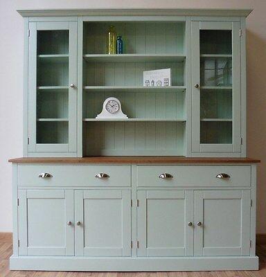Solid Pine 6ft Painted Welsh Dresser