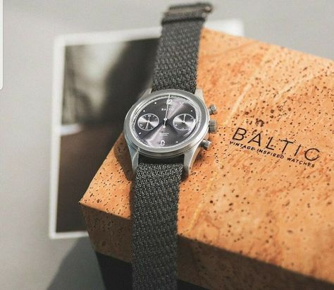 Baltic Bi-Compax Chronograph Watch