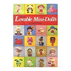 Lovable Mini-dolls #felt #doll #book