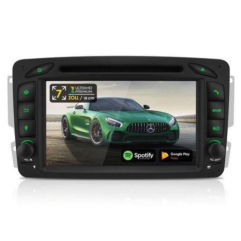 Mvh N2050 Autoradio 2 Din Android Mit Navi Fur Mercedes Benz Modelle Mercedes Benz Modelle Benz Und Mercedes Benz