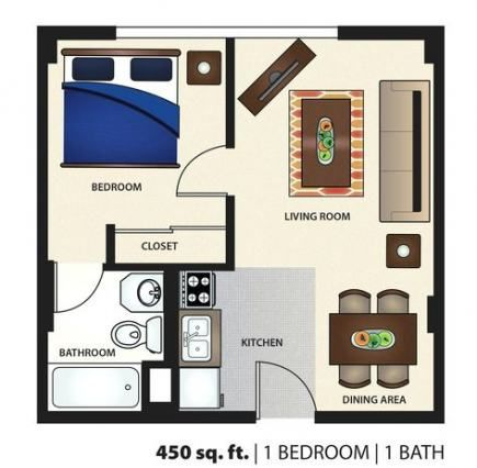 22 Ideas Apartment Layout 50m2 For 2019 Apartment Floor Plan Apartment Layout Studio Floor Plans