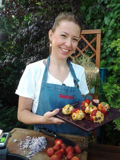 Miška dnes počas vysielania pripravovala úžasné jahodové dobroty. Mňam! Najrôznejšie recepty z Telerána nájdete na http://telerano.markiza.sk/varenie-s-teleranom/