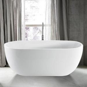 56 Foster Acrylic Freestanding Tub Small Bathroom Bathtub Tub