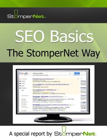 SEO Basics: The StomperNet Way ebook by StomperNet - Rakuten Kobo