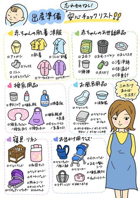 出産 準備 リスト