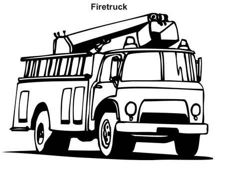 Fire Truck Coloring Pages Photos Gif Gif Image 949 700 Pixels