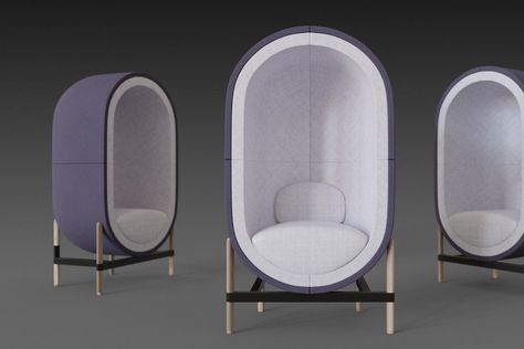 Capsule chair sofa
