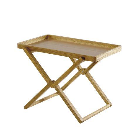 Tavolo Pieghevole Con Vassoio.Tavolino Pieghevole In Rovere Con Vassoio Tavolini Tavoli