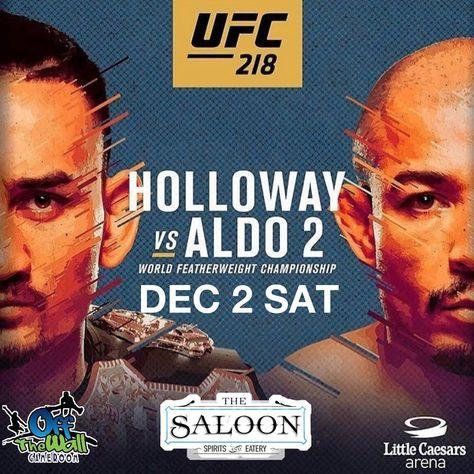 november UFC 218 is here! Como watch...