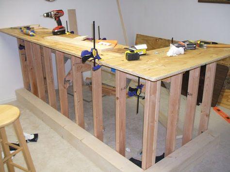 build a dry bar   The Learn As I Go Theater/Bar Build