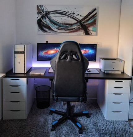 56 Ideas Diy Desk Ideas Small Space Saving Gaming Computer Desk Modern Computer Desk Diy Computer Desk