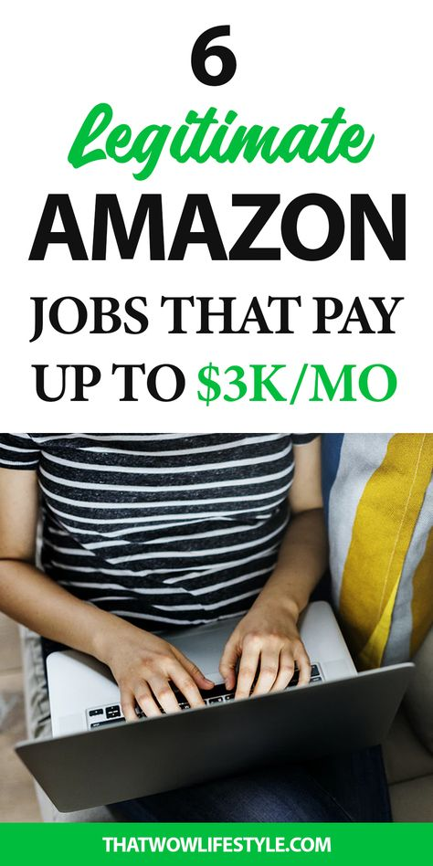 6 High Paying Work At Home Amazon Jobs That Pay Well